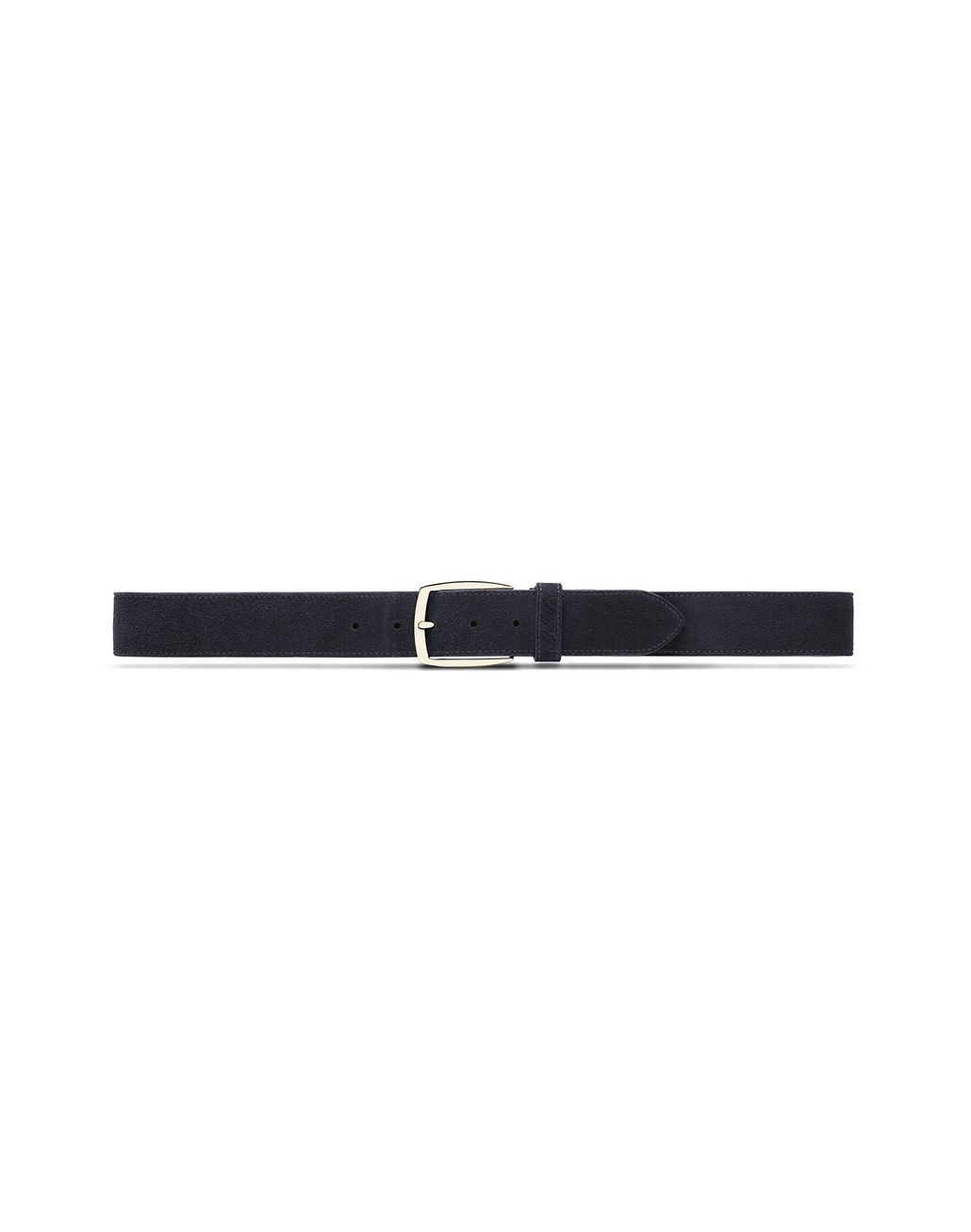 BRIONI Blue Suede Belt Belt Man f