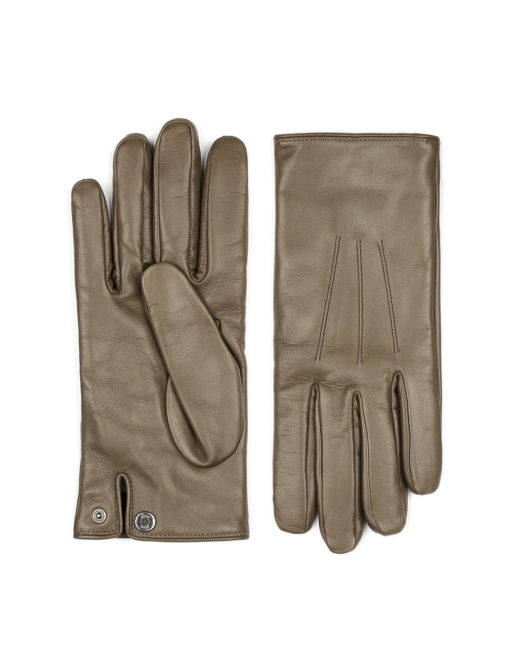 BRIONI Brown Gloves Hats & Gloves Man f