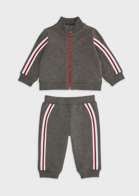 Tracksuit with full-zip sweatshirt