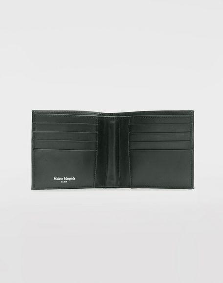 MAISON MARGIELA Folded calfskin zipped wallet Wallet Man d