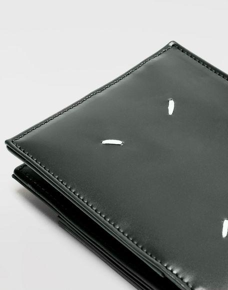 MAISON MARGIELA Folded calfskin zipped wallet Wallet Man e