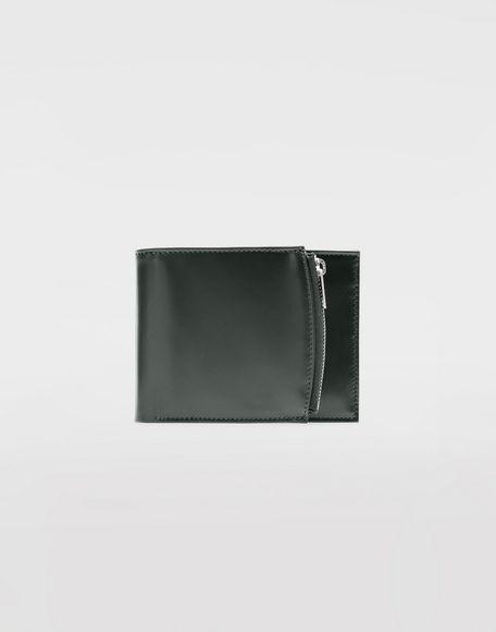 MAISON MARGIELA Folded calfskin zipped wallet Wallets Man f