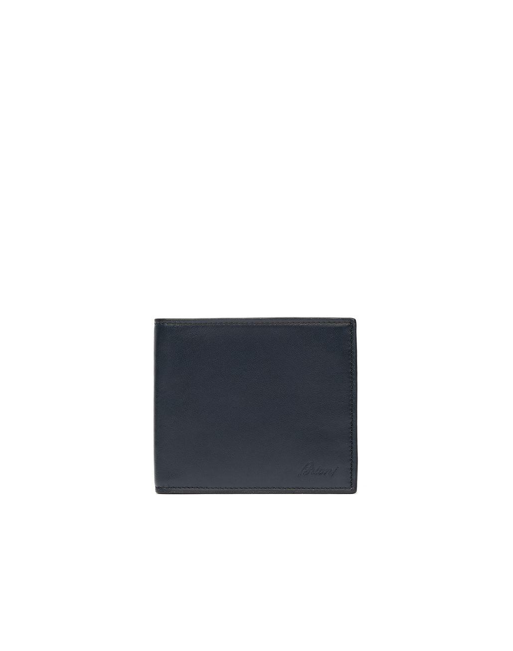 BRIONI Blue Wallet Wallet Man f
