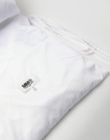 АКСЕССУАРЫ Уплотнённый шарф с карманами Белый
