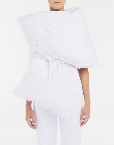ACCESSOIRES Écharpe rembourrée avec poches Blanc