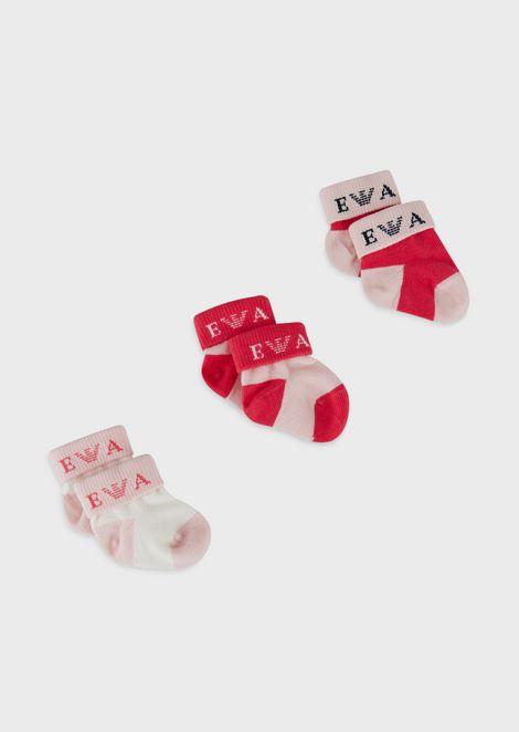Set de regalo con tres pares de calcetines
