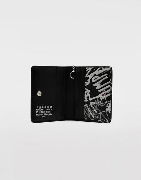MAISON MARGIELA Graffiti keychain wallet Wallets Woman d