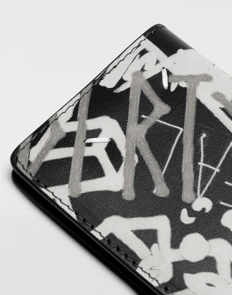 MAISON MARGIELA Graffiti keychain wallet Wallets Woman e