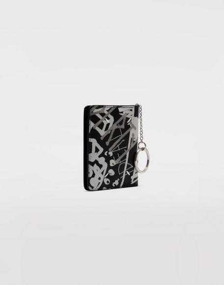 MAISON MARGIELA Graffiti keychain wallet Wallets Woman r