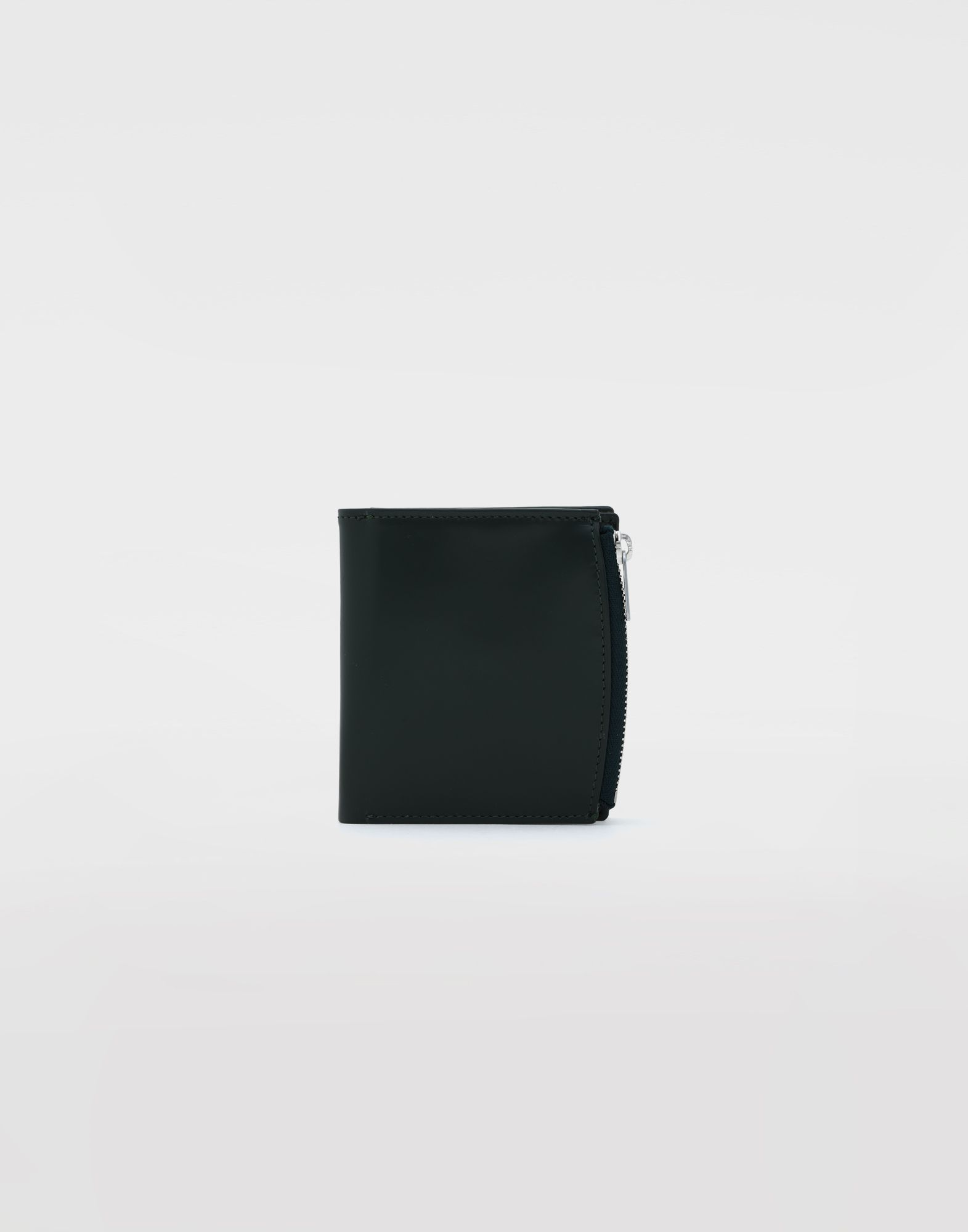 MAISON MARGIELA Folded calfskin zipped wallet Wallet Man f