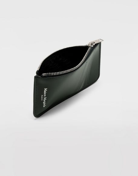 MAISON MARGIELA Long calfskin card-holder Wallets Man d