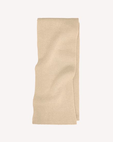Ribbed Wool maxi scarf