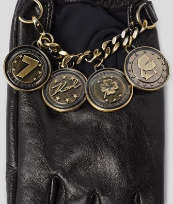 KARL LAGERFELD K/TREASURE COINS GLOVES