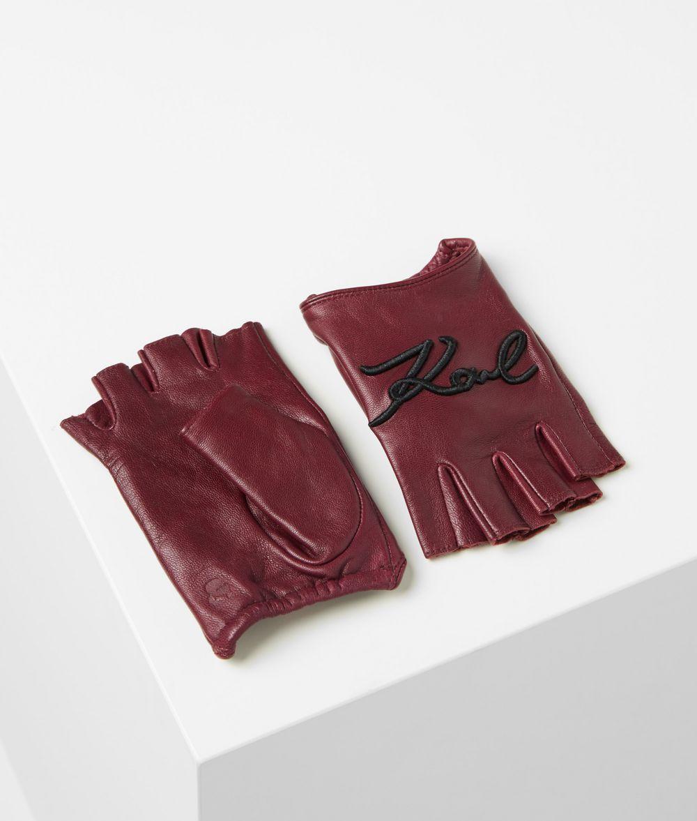 KARL LAGERFELD Митенки K/Signature Перчатки Для Женщин f