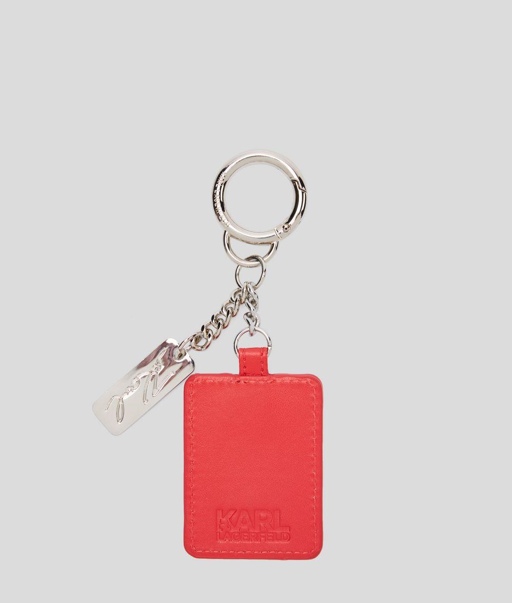 KARL LAGERFELD K/Ikonik 3D Keychain Key Chain Woman d