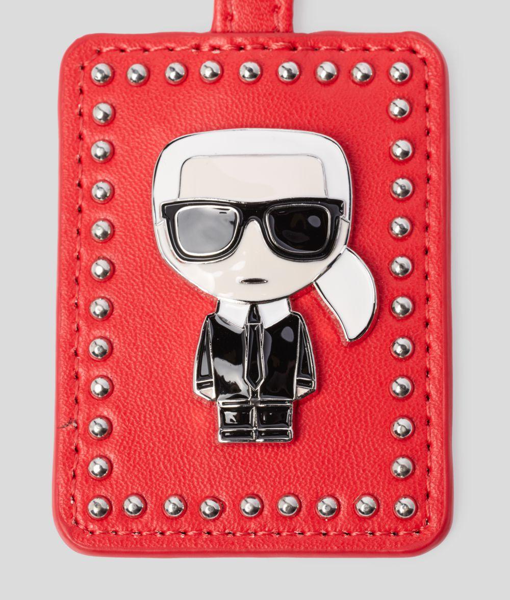 KARL LAGERFELD K/Ikonik 3D Keychain Key Chain Woman l