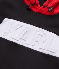 KARL LAGERFELD Logo Embossed Hoodie 9_f