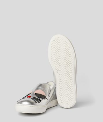 KARL LAGERFELD CHOUPETTE SLIP-ON TRAINER