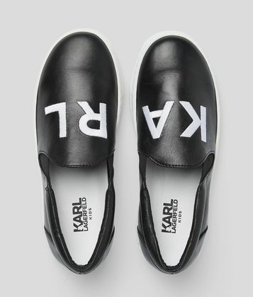 KARL LAGERFELD SLIP-ON TRAINER