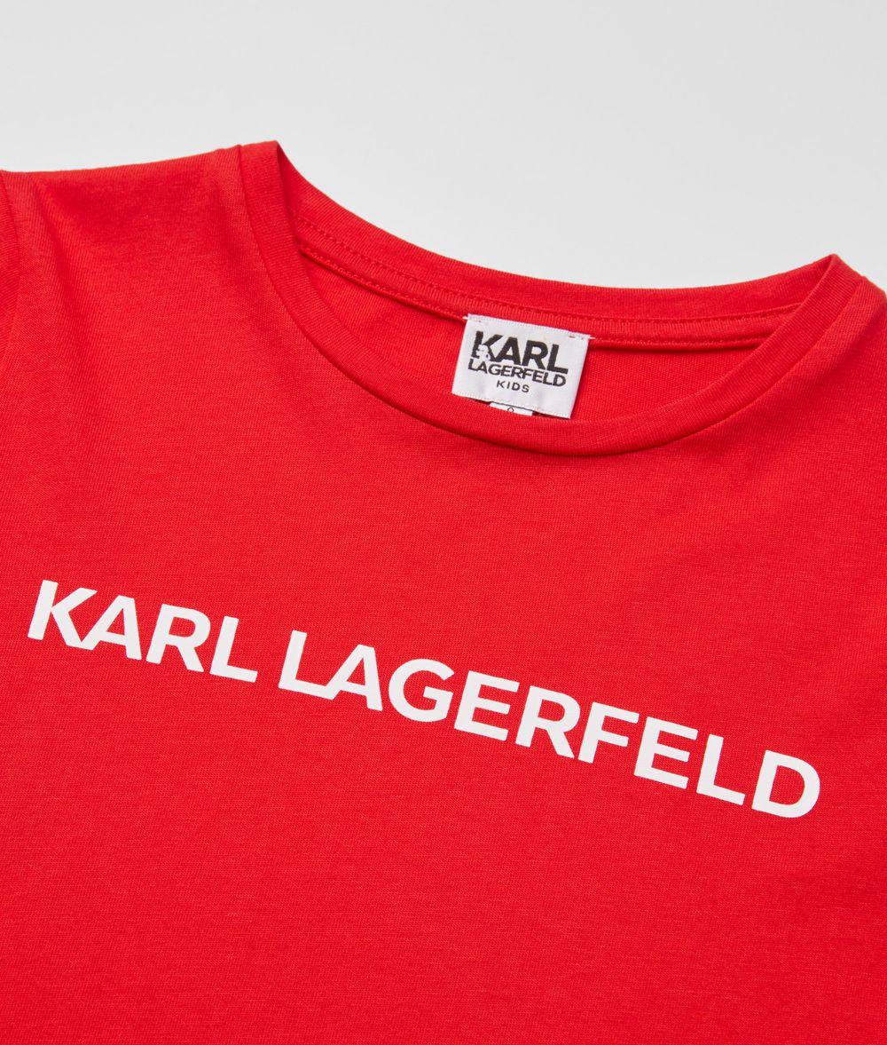 KARL LAGERFELD Logo Sweatshirt Kids' Sweatshirt Woman d