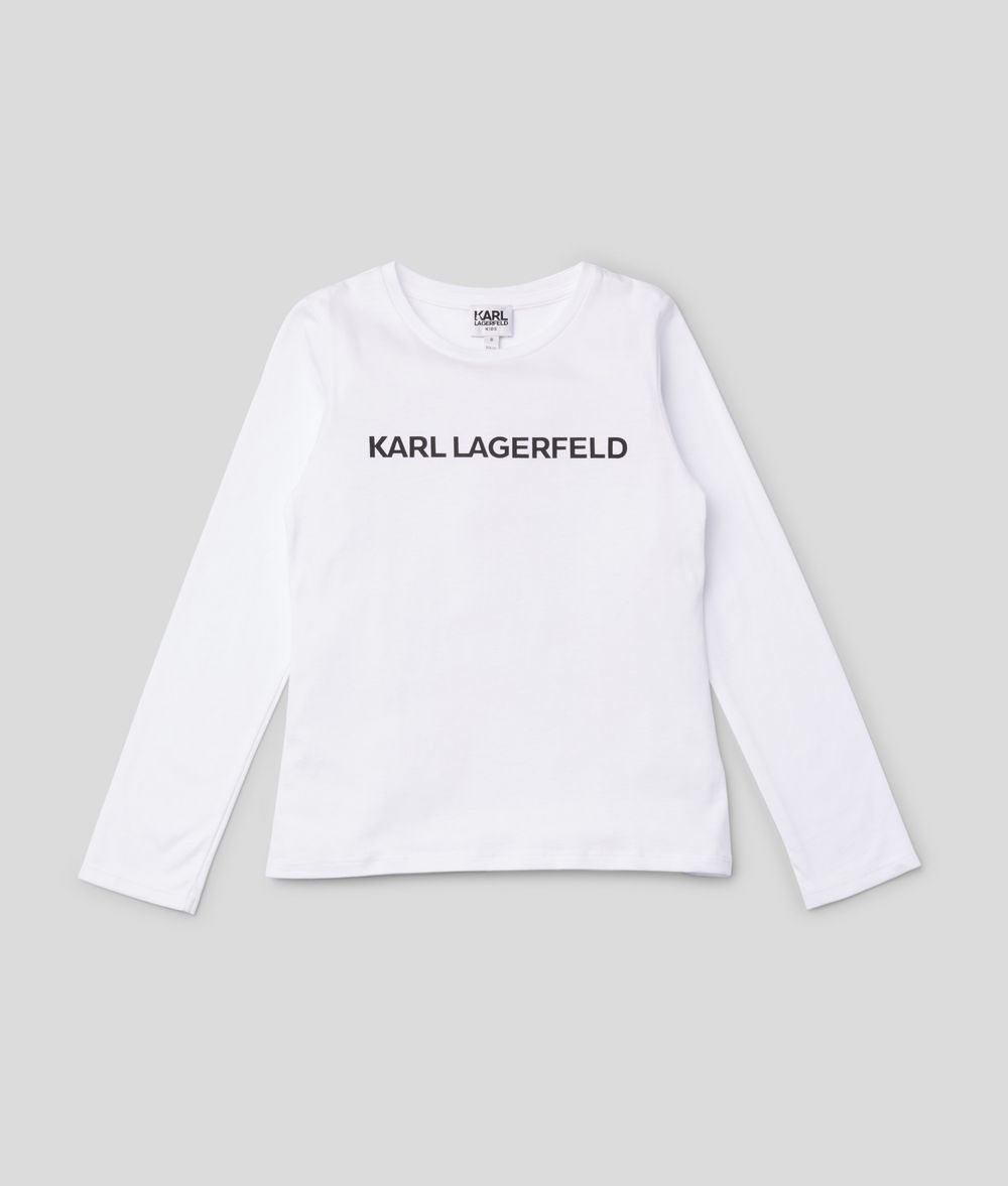 KARL LAGERFELD Logo Sweatshirt Kids' Sweatshirt Woman f