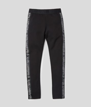 KARL LAGERFELD LOGO LEGGINGS