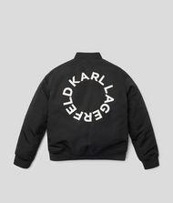 KARL LAGERFELD Circle Logo Jacket 9_f