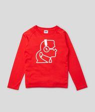 KARL LAGERFELD Printed Sweatshirt 9_f