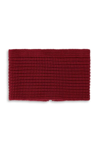 MISSONI Collar Maroon Woman - Back