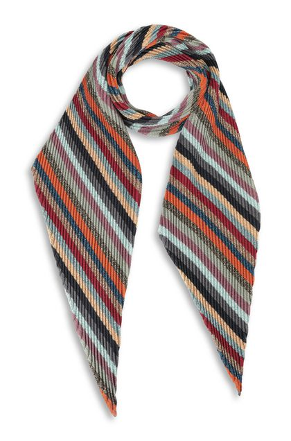 MISSONI Scarf Maroon Woman - Back