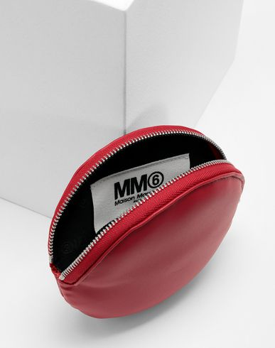 ACCESSORIES Round wallet  Red