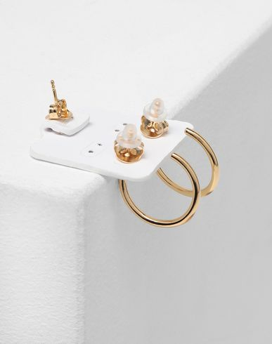JEWELRY  'Display' earrings Gold