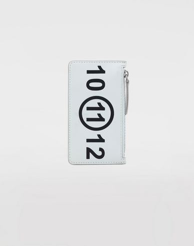 Small Leather Goods  Logo card-holder White