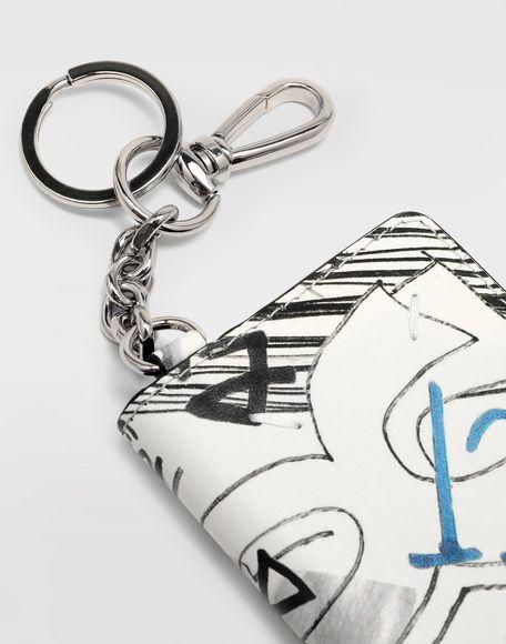 MAISON MARGIELA Graffiti envelope keyring Wallet Woman e