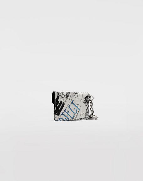 MAISON MARGIELA Graffiti envelope keyring Wallet Woman r