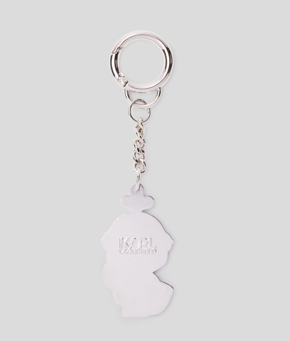 KARL LAGERFELD K/Treasure Knight Keychain Key Chain Woman d