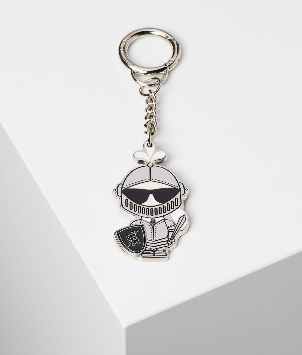 KARL LAGERFELD K/Treasure Knight Keychain Key Chain Woman f