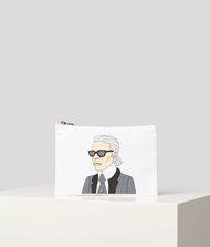 KARL LAGERFELD K/MET Portrait Pouch 9_f