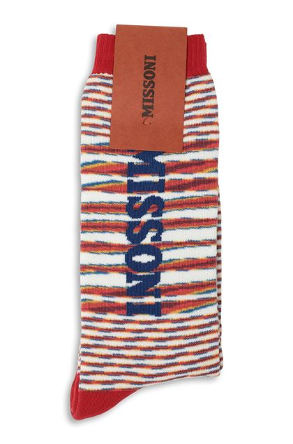 MISSONI Socks Red Man - Front