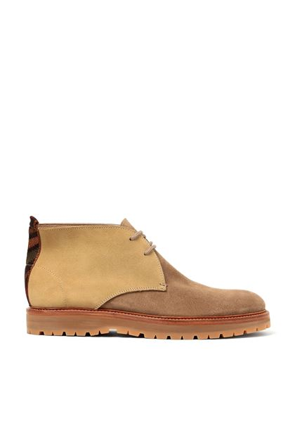 MISSONI Shoes Khaki Man - Back