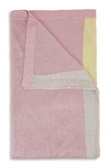 MISSONI Stole Pastel pink Woman - Front