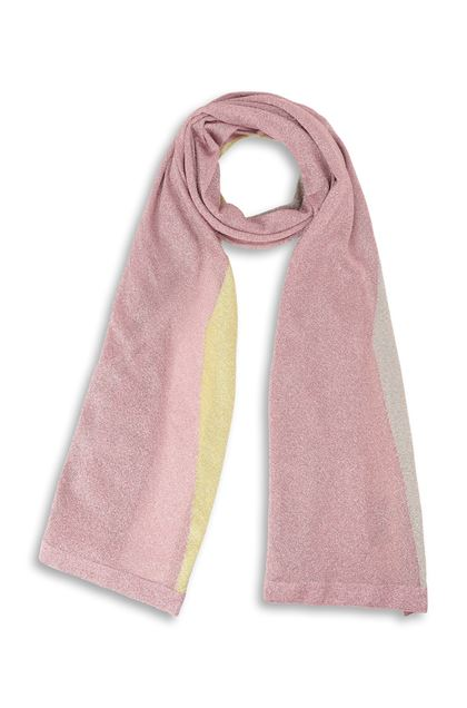 MISSONI Stole Pastel pink Woman - Back