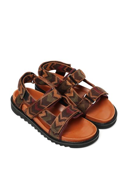 MISSONI Sandals Tan Man - Front