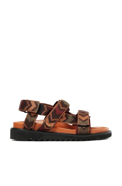 MISSONI Sandals Tan Man - Back