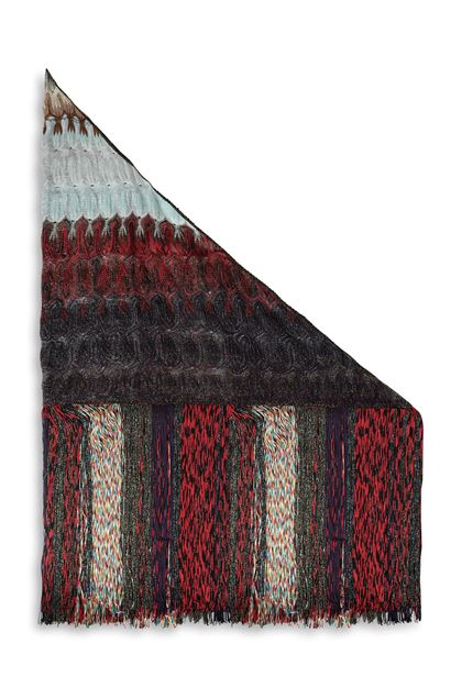 MISSONI Stole Purple Woman - Front