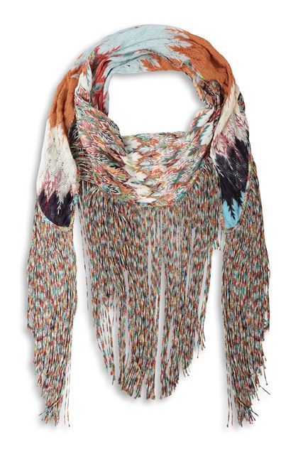 MISSONI Shawl White Woman - Back