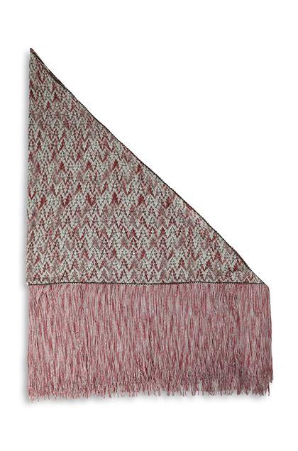 MISSONI Shawl Pastel pink Woman - Front