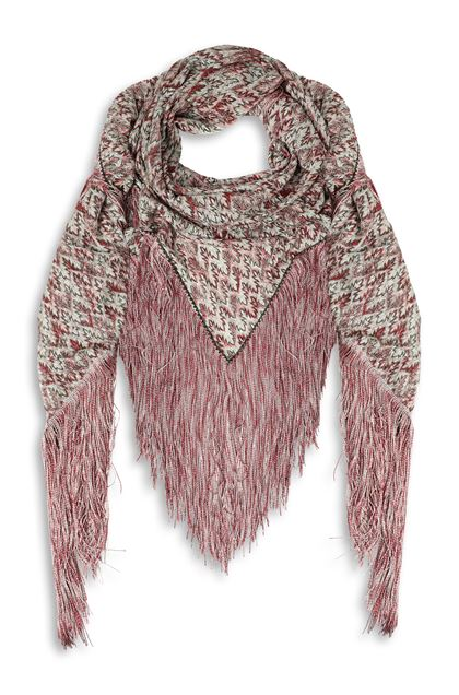 MISSONI Shawl Pastel pink Woman - Back