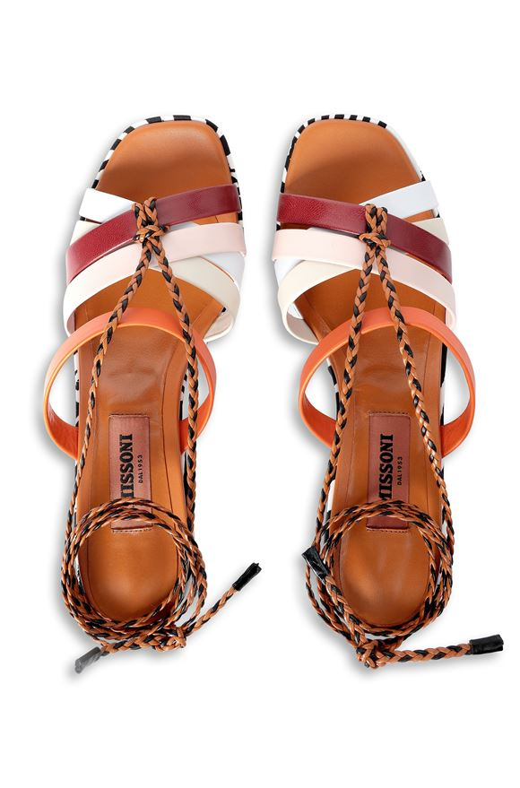 MISSONI Sandals Woman, Side view