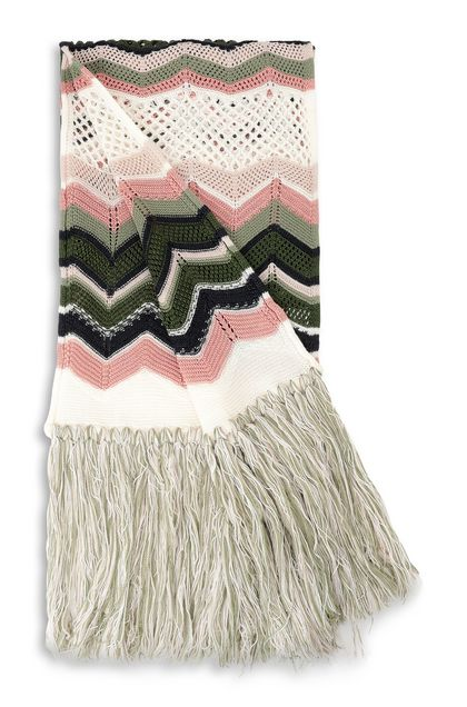 M MISSONI Scarf Ivory Woman - Front